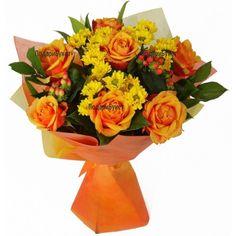 svejo.net | Е-Цвете - Доставка на цветя от http://e-cvete. com :: Оранжевата роза - символ на любовта и секса