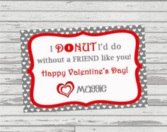 for the donut fan in your life print this sweet card on avery 3379