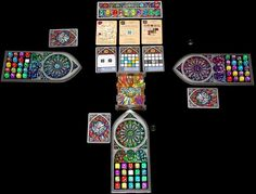 Sagrada is one of my recent favorite board games. It is fundamentally a pretty simple game, but it has a lot of really endearing qualities. Play And Stay, The End Game, Fun Board Games, Game Engine, Thing 1, Games Today, Dice Games, Bad Feeling, Adult Games
