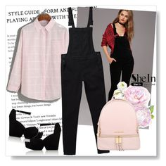 """""""SheIn Blouse"""" by alien-official ❤ liked on Polyvore featuring Forever 21, Michael Kors and Robert Clergerie"""