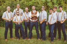 Wedding Inspiration Fall Vintage Rustic Groomsmen Montana Rocky Mountain Copper And Teal
