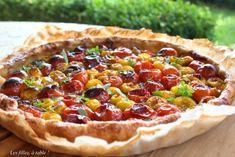 Tarte aux tomates cerises – Les filles, à table !