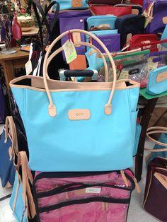 4455aa0634 Tyler tote in vinyl ocean blue! USA made in San Antonio