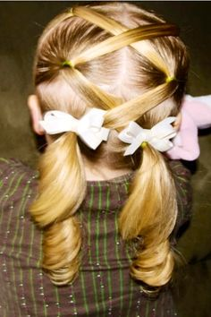 Hairstyle for Flower Girl!