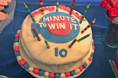 Blairs Blessings: 10 Year-Old Minute to Win It Birthday Party