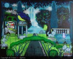 """Artist:Elena Vera Solodovnikova.  Title:""""20Km To..."""".  Size:80 x 100 x 3cm.  Materials:Acrylic on Canvas.  €621.81"""