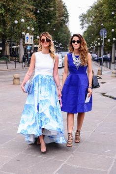 Waterfall skit / blue shades / and tribal accessories