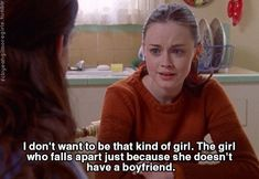 very true, gilmore girls Rory Gilmore, Gilmore Girls Quotes, Film Quotes, Tv Show Quotes, Dirty Dancing, Babette Ate Oatmeal, Glimore Girls, Movie Lines, Mamma Mia
