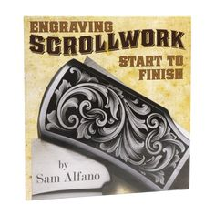 Engraving Scrollwork: Start to Finish with Sam Alfano, DVD - coupon canada Money Tattoo, Metal Engraving, Stippling, Jewelry Making Supplies, Jewelry Findings, Metal Working, Your Design, It Is Finished, Coupon Template