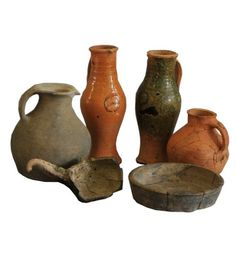 Medieval pottery in Bucks Museum