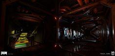 ArtStation - Doom (2016) Environment Work , Nick Slay