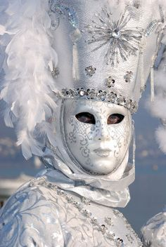 All sizes / White and silver / Flickr - Photo Sharing! (silver,mask,masquerade)