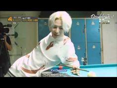 [TheLivMeDy] Kai Taemin Play Billiard 4 Thing Show vostfr 140819 - YouTube