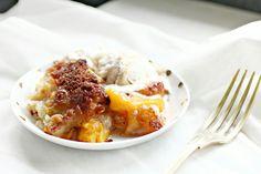 Cobbler, desser perzik korstje voor grote groepen