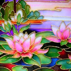 A 63 pieces jigsaw puzzle from Jigidi Stained Glass Paint, Stained Glass Flowers, Stained Glass Crafts, Stained Glass Designs, Stained Glass Panels, Stained Glass Patterns, Glass Painting Patterns, Glass Painting Designs, Bottle Painting