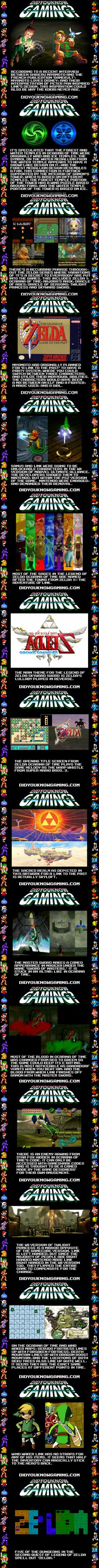 Legend of Zelda fun facts