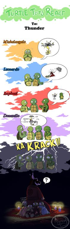 Turtle Tots React - Thunder by Myrling.deviantart.com on @DeviantArt