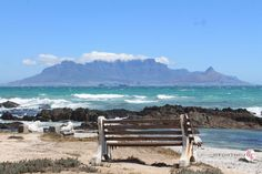 Bloubergstrand, Kapstadt Give Me Five, Table Mountain, Cape Town, Outdoor Furniture, Outdoor Decor, South Africa, Surfing, Tours, World