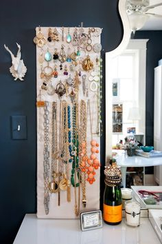 What a great way to display your accessories!