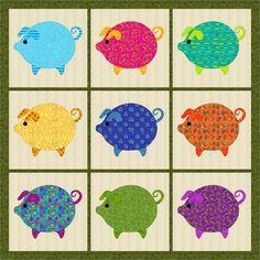 Free Quilt Pattern: Saving Stash