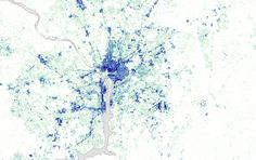 Impervious Surfaces map 1984 (Washington DC) Landsat data