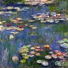 Water Lilies I Painting by Claude Monet