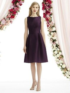 After Six Bridesmaids Style 6744 - Suede Rose | The Dessy Group