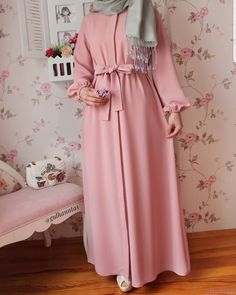 8 or 9 ? Which dress you like . Abaya Style, Hijab Style Dress, Hijab Outfit, Abaya Fashion, Modest Fashion, Fashion Clothes, Girl Fashion, Fashion Dresses, Abaya Mode