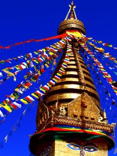 Swayambhunath Stupa, Nepal Buddha Temple, Buddha Buddhism, Nepal Kathmandu, Bhutan, Buddhist Stupa, North India, Pilgrimage, Tibet, Places To See