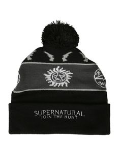 Supernatural Pom Beanie | Hot Topic | $15.60