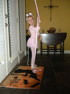 Angelina Ballerina costume for Book Character Parade