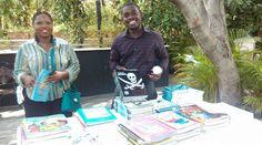 Agirad (Agir Pour Demain Org en Haiti) dans une activité de collecte de livres pour enfant en mai 2015