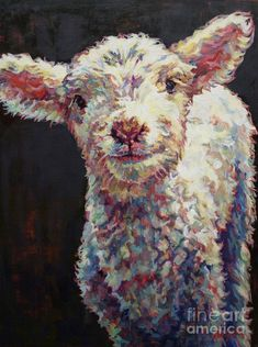 Dorset Sheep, oil on linen,Griffin,Patricia A Griffin Sheep Paintings, Animal Paintings, Animal Drawings, Art Paintings, Art Drawings, Acrilic Paintings, Sheep Art, Farm Art, Guache