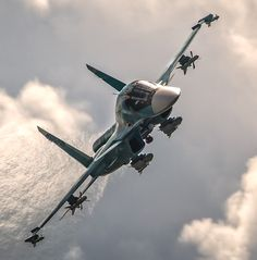 Су - 34 Aircraft Parts, Fighter Aircraft, Fighter Jets, Military Jets, Military Aircraft, Luftwaffe, Russian Plane, Aviation Technology, Airplane Fighter