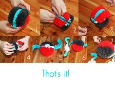 Tutorial Pom Pom Maker  by Borgorosa