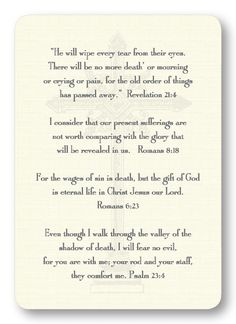 Verses for Grief
