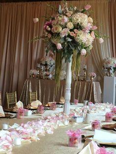 Blush pink flower.