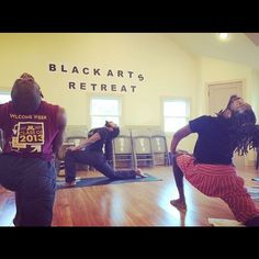 """Making a retreat so as to advance better""  Kemetic Yoga @ Black Arts Retreat 2016  #KemeticYoga #Yoga #BlackArtsRetreat #blackartsmatter #blackmendoyoga #brothas #imwiththem #blackunity #blackyogini #healthyliving #holisticliving #vegans #BrownstoneWellness"