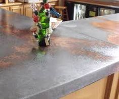Image result for galvanized steel countertops