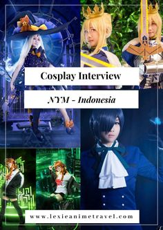 Black Butler, Persona Five, and Fate Grand Order by NYM - Indonesia Persona Five, Cosplay Events, Vacation Quotes, Night Photos, Black Butler, Travel With Kids, Role Models, Are You Happy, Travel Destinations