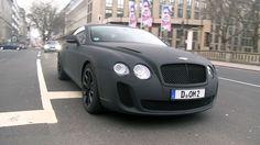 Bentley Continental - Matte Black