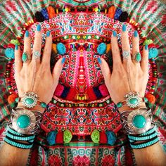 Gypsy treasures. Rings and bracelets from Offbeatcuts