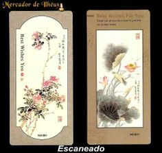Dois Marcadores De Livro – Bookmark Season's 04. Frete Grátis - Carta Registrada