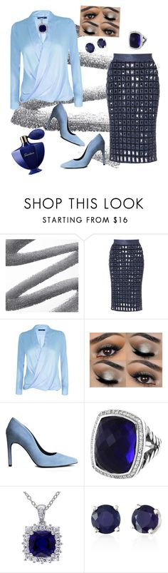 """Blyou by VaVa Voom"" by vavavoomplusfashions ❤ liked on Polyvore featuring PA5H, H&M, David Yurman, Effy Jewelry and Guerlain"