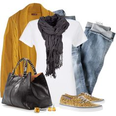 A fashion look from January 2014 featuring J.Crew jeans, Vans sneakers and MANGO tote bags. Browse and shop related looks.
