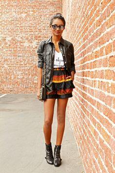 Skirt, shorts