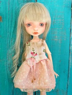 OOAK outfit by Petite Apple for Mystery doll by Nefer Kane