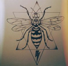 Wasp tattoo idea