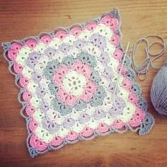 Shell Stitch Baby Blanket – Free Pattern ~ YARN CROCHET