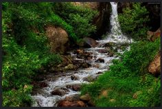 On the hike to Kheerganga, hot springs in the Parvati Valley - #Himalayas #kasol #Himachal